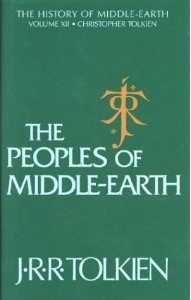 The Peoples of Middle Earth book cover