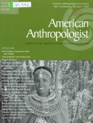 American Anthropolist Cover