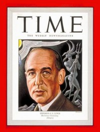 Time Cover featuring C.S. Lewis